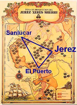 Imagen correspondiente a la zona del Marco de Jerez